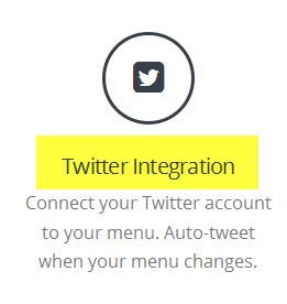 twitter integration